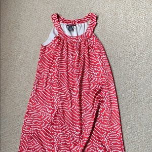 BCBG red semi formal dress